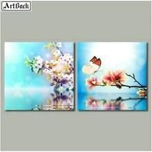 5d алмазная картина цветы Бабочка полная квадратная дрель Новые