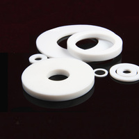 Custom Made 1x DN200 PTFE Teflon Fasteners Washers Insulation O Ring Sealing Spacer Gasket 268 219