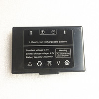 Lithium Ion Rechargeable Battery 3 7V 4 2V 2000mAh AR924 Underground Metal Detector Dedicated Battery For