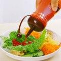 Criativo Garrafa Tempero Açúcar Sal Pimenta Shaker Salada Ketchup Molho À Prova de Vazamento-Jam Squeeze Salada de Óleo material de Cozinha