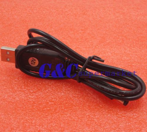 2 STKS USB DC 5 V Naar 12 V Step-up Module Converter 2.1x5.5mm Mannelijke Connector