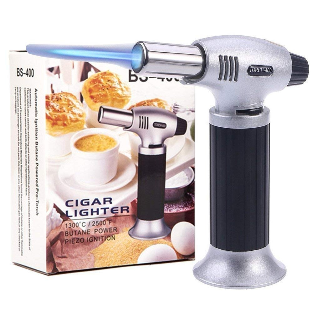 Culinary Torch Kitchen Professional Chef s set Ideal for Creme Brulee Cooking Baking Desserts BBQ