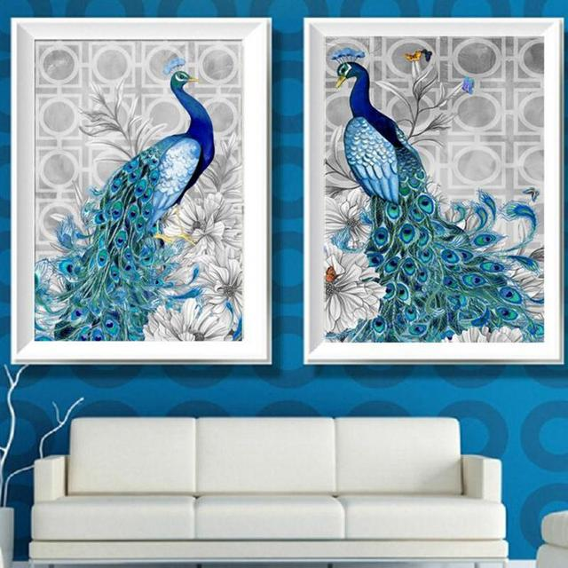 Amazing Embroidery Paintings Rhinestone Pasted 3d Diamond Painting