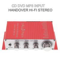 DC12V 5A Handover Hi Fi 2 Channels Car Stereo Amplifier Support CD DVD MP3 Input