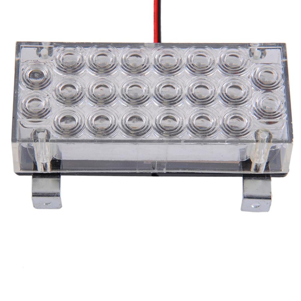 10000-12000MCD Hvid Gul 44 LED Energisparelampe Strobe Grill Dashlys - Billygter - Foto 2