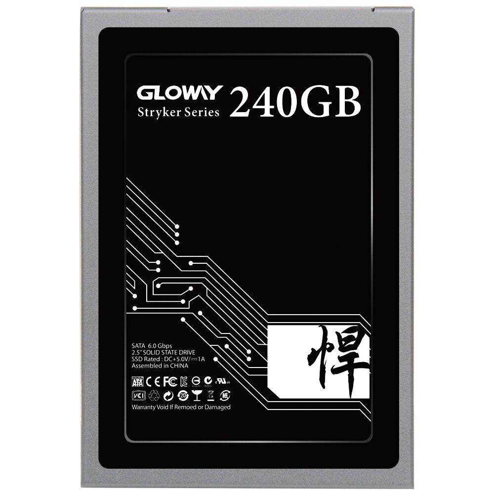 Gloway Vente Gloway 2.5 SATA III 6 GB/S SATA 3 hd SSD 480 GB 240 GB disque SSD drive disque dur SATA3 SSD 720 GB livraison gratuite