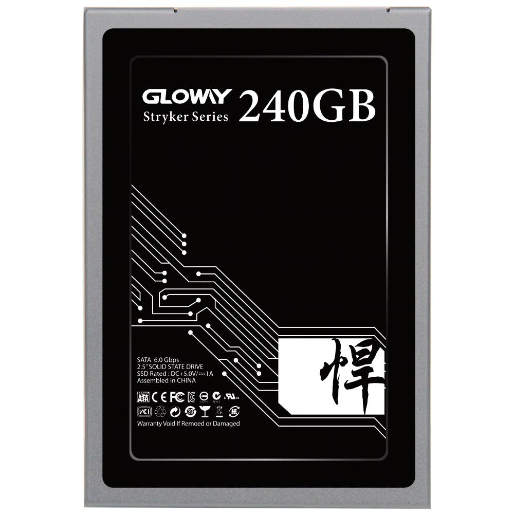Gloway vente 2.5 SATA III 6 GB/S SATA 3 hd SSD 480 GB 240 GB 2 to disque dur à semi-conducteurs disque dur SATA3 SSD 720 GB livraison gratuite