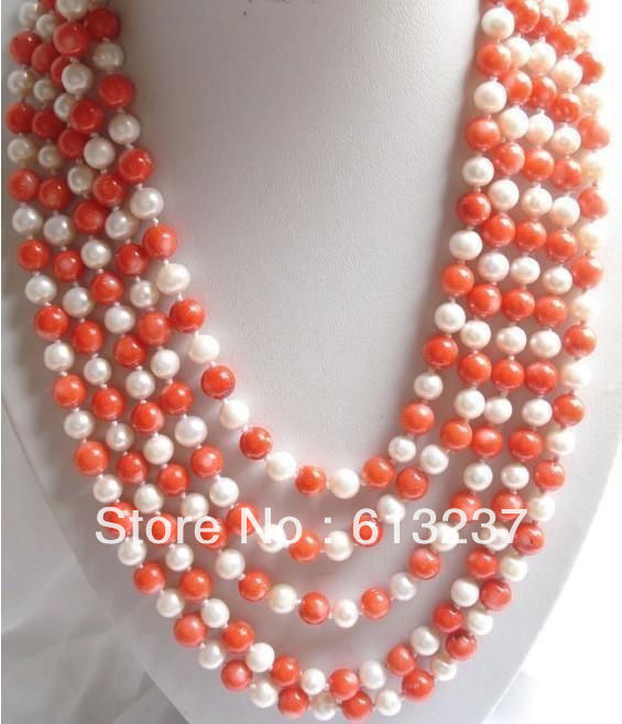 hot-new-Fashion-Style-diy-100-6-7mm-Whit