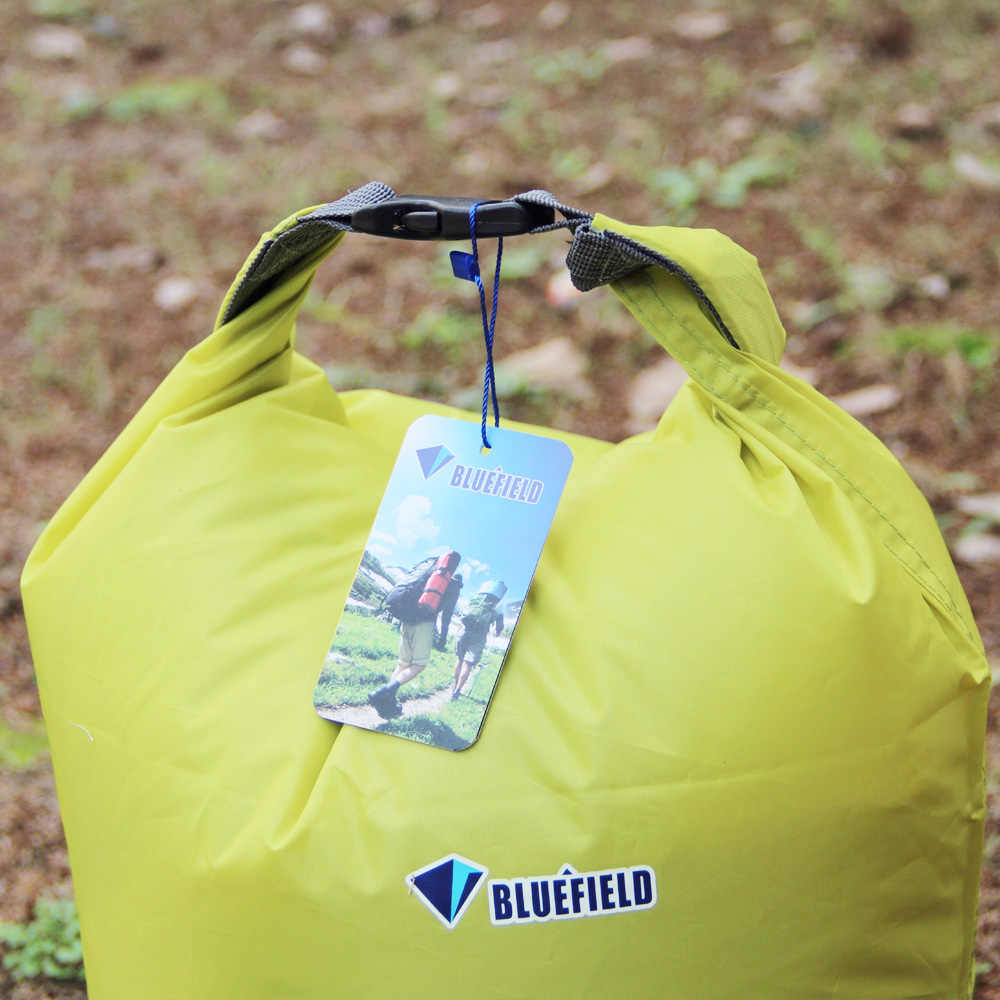 Gratis Pengiriman 3 Pcs/lot Bluefield Outdoor Olahraga 20L 40L 70L Tahan Air Tas Kering untuk Kano Kayak Arung Jeram Berkemah