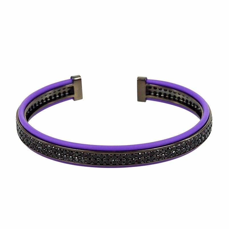 Luxe Anil arjandas Homme 18k Or Plaqué Zircon Couronne Tressé Macrame Bracelet