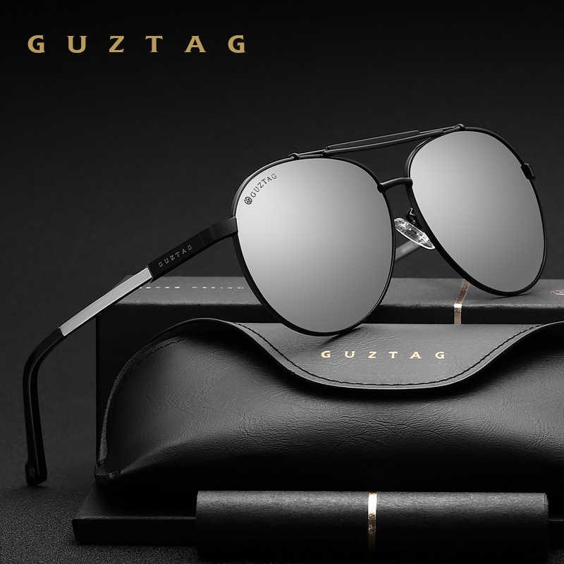 GUZTAG Unisex Classic Brand Men Women Aluminum Sunglasses HD Polarized UV400 Mir