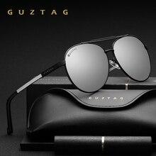 GUZTAG للجنسين الكلاسيكية ماركة الرجال النساء الألومنيوم النظارات الشمسية الاستقطاب UV400 مرآة الذكور نظارات شمسية للنساء للرجال G8002