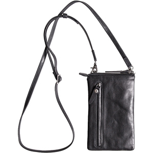 Image 2 - AETOO Head cowhide male small crossbody bag leisure trend leather female mobile phone bag change bag with card position