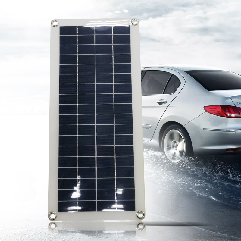 USB Solar Panel 10//15//20//25W Mini Solar System DIY For Battery Cell Phone Charge
