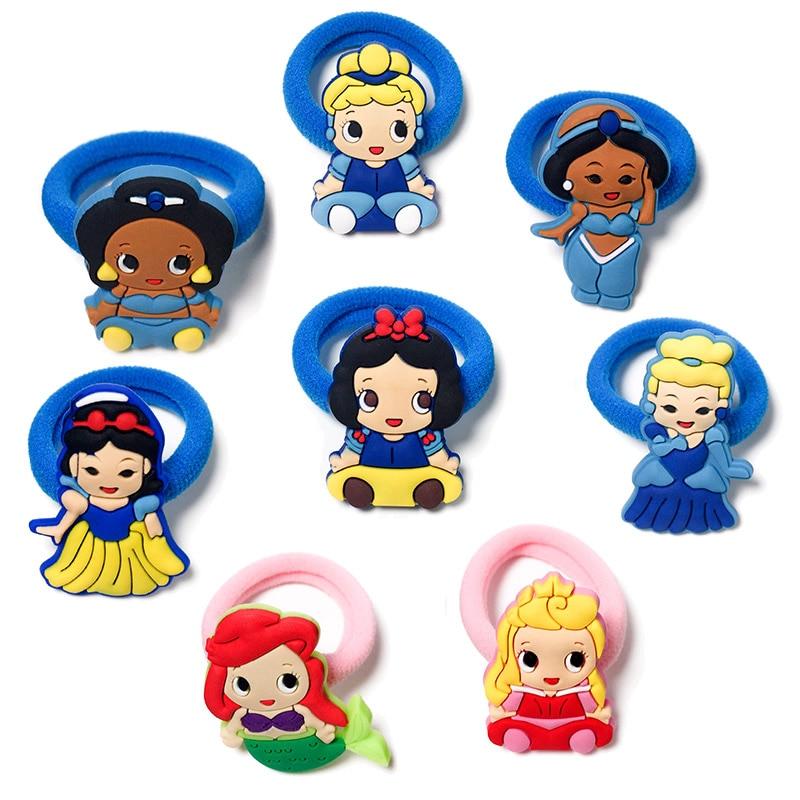 8PCS Hairbands Kids Scrunchy Hair Band Elastic Hair Accessories Girl's Hair Rope Favor Kid Headwear