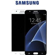 Pantalla LCD Original para SAMSUNG Galaxy J7 Prime 2018, digitalizador de pantalla táctil para SAMSUNG Galaxy G611, piezas de repuesto