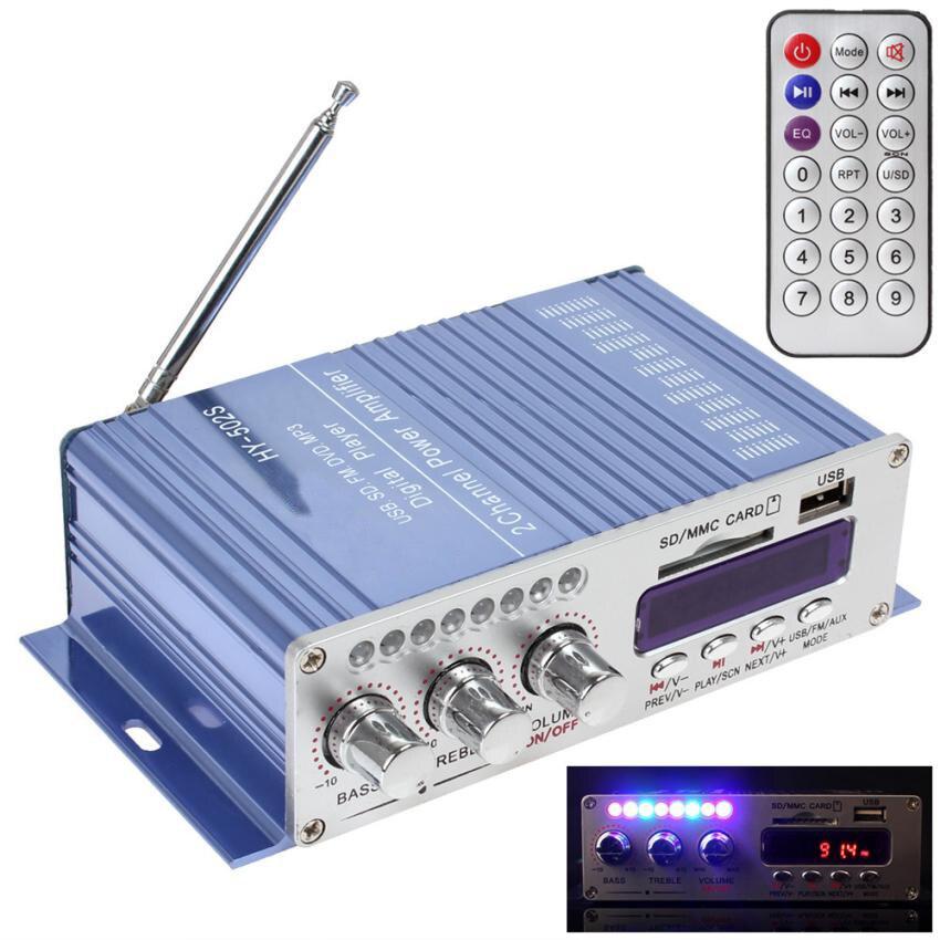Плеер автомобиля hy502s Hi Fi Цифровой стерео Мощность Усилители домашние <font><b>Bluetooth</b></font> стерео Радио FM MP3 Усилители домашние Car 3.0