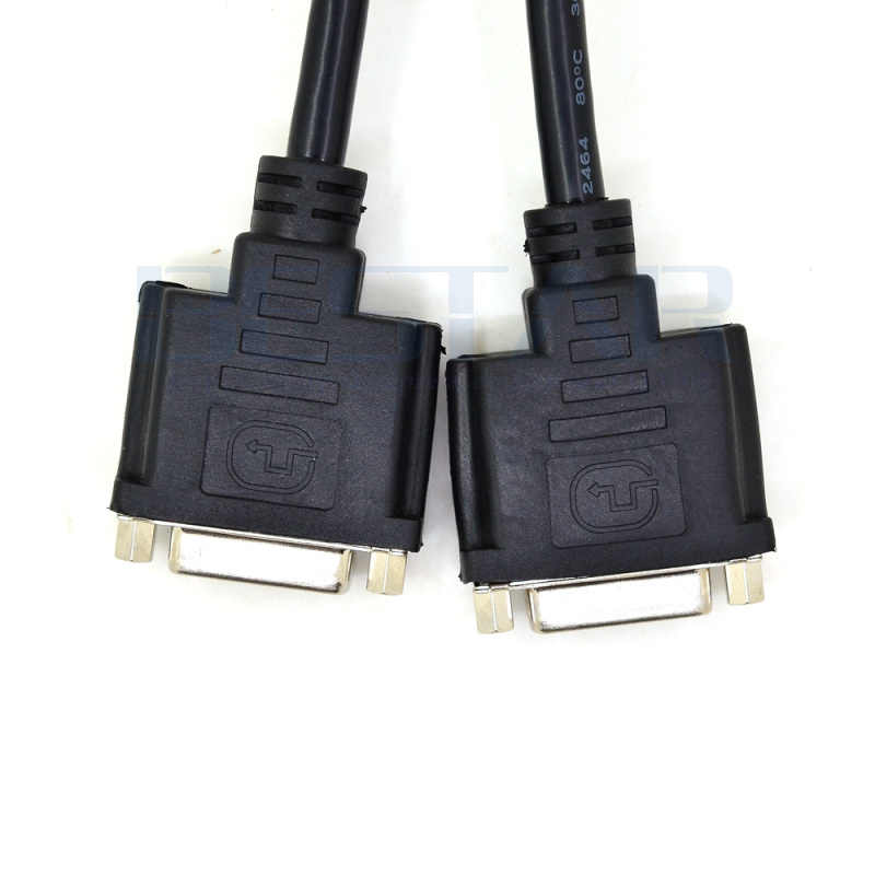 8in DVI Splitter Cable StarTech.com DMS 59 to Dual DVI I DMS 59 to 2x DVI DMSDVIDVI1 Y Cable DMS 59 Cable Monitor Splitter Cable ,Black