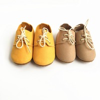 Genuine leather baby shoes suede first walkers indoor non slip toddler baby moccasins lace up bebe.jpg 200x200