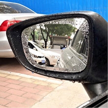 2 sztuk naklejka na samochodowe lusterko wsteczne wodoodporna i przeciwmgielna film dla SSANGYONG przewodniczący Rexton Kyron Rodius Actyon korando Tivolan