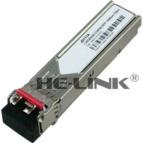 JD111A-X170 1000BASE-LH70 CWDM SFP 1590nm 80km transceiver (Compatible with HP)JD111A-X170 1000BASE-LH70 CWDM SFP 1590nm 80km transceiver (Compatible with HP)