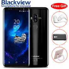 Blackview S8 5.7″ 18:9 Curved Bezel-less Full Screen 4G Smartphone 4 Cameras 4GB+64GB MT6750T Octa Core Fingerprint Mobile Phone