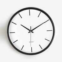 White Plastic Bedroom Wall Clock Study Room Home Wall Clock Digital Clocks Large Decorative Clocks Duvar Saatleri Watch 50KO540