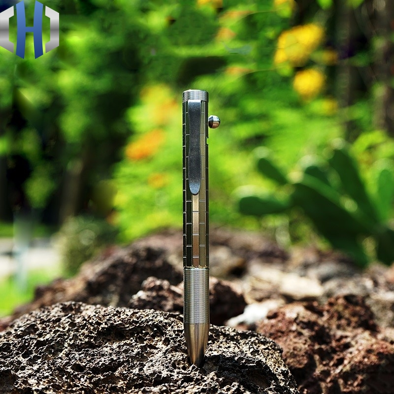 Original Titanium Alloy Pen Tactical Pen Defense Pen Gun Pen Pen Business Office Signature Pen