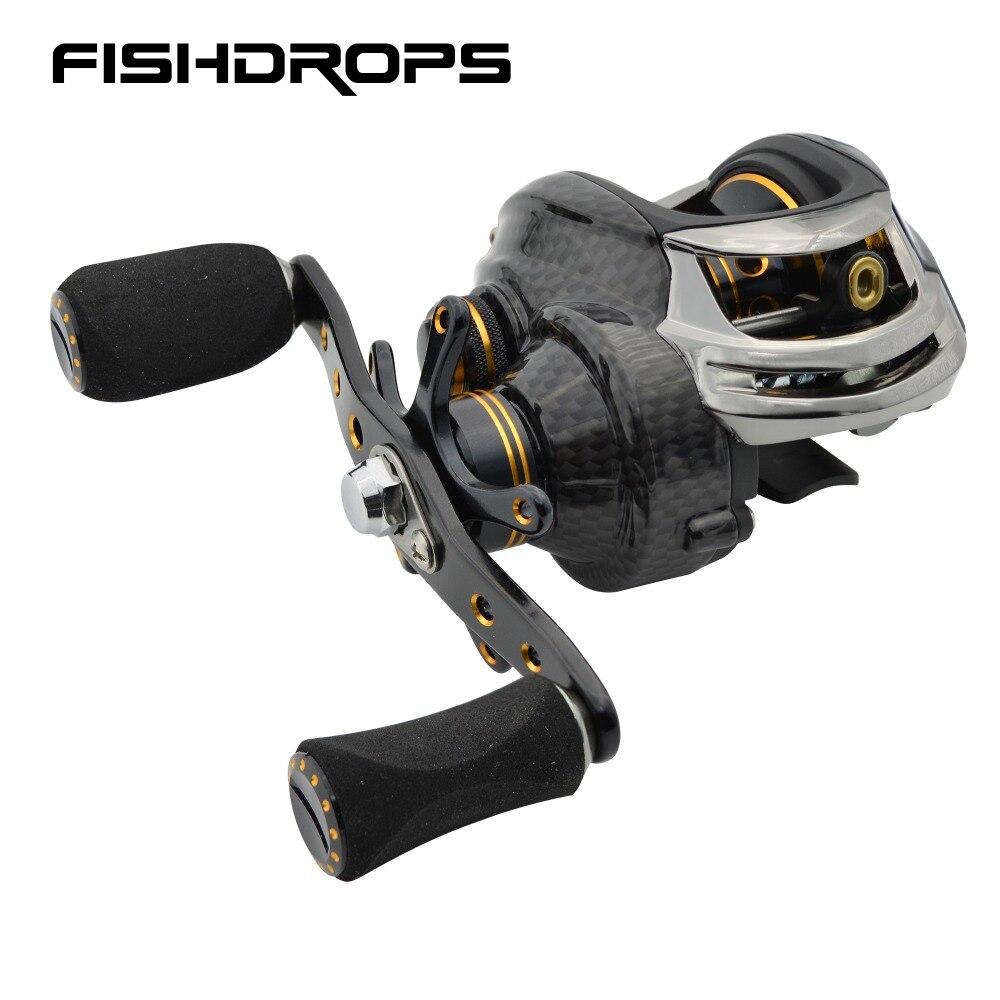 Fishidrops baitcasting fishing reel ocean baitcast 5 5KG Max drag fishing baitcaster reel