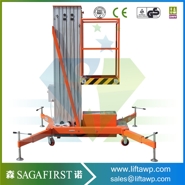 6m Full Manual Aerial Light Weight Lift Platforms