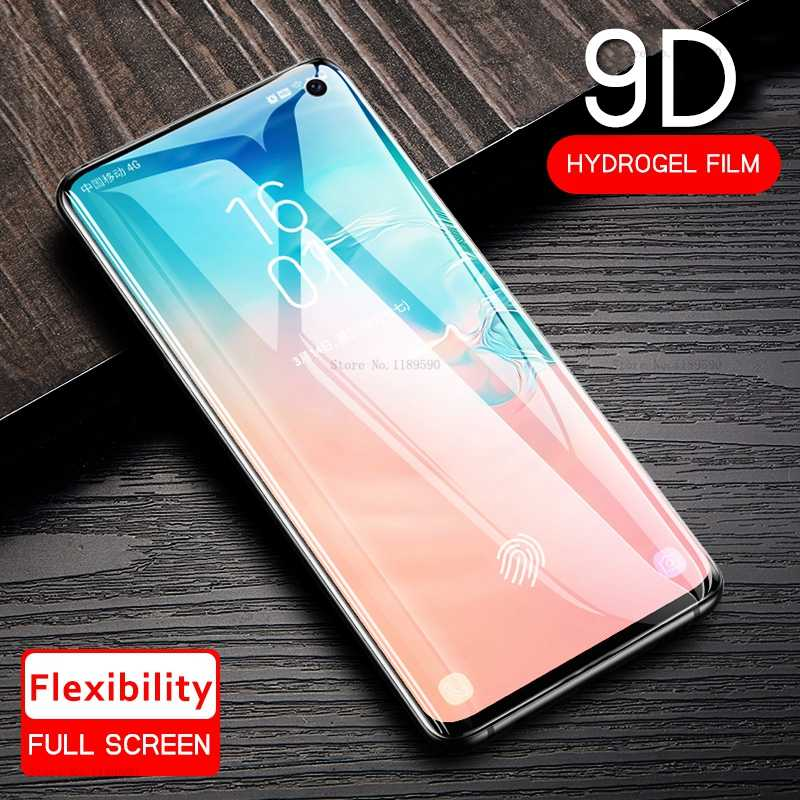 Full Soft Hydrogel Film For Samsung Galaxy S10 Plus S10e S 10 9D Screen Protector For Samsung S8 S9 Note 8 9 A10 A20 A30 A50 A