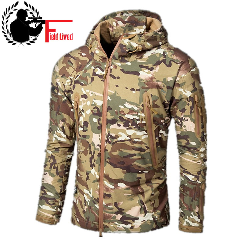 Brand New Camouflage Jackets Men Women Winter Snowcoat Fur Collar Military Parka Coat Couples Thick Cotton
