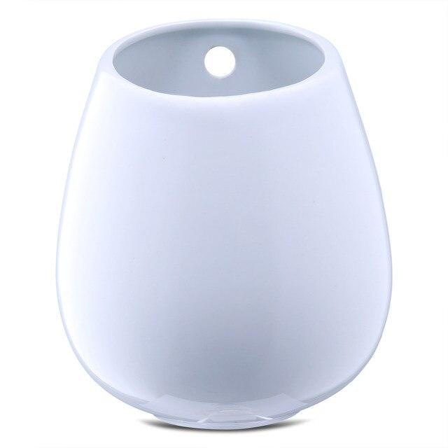 Large White Ceramic Pot Wall Ceramic Vase Wall Mounted Succulent