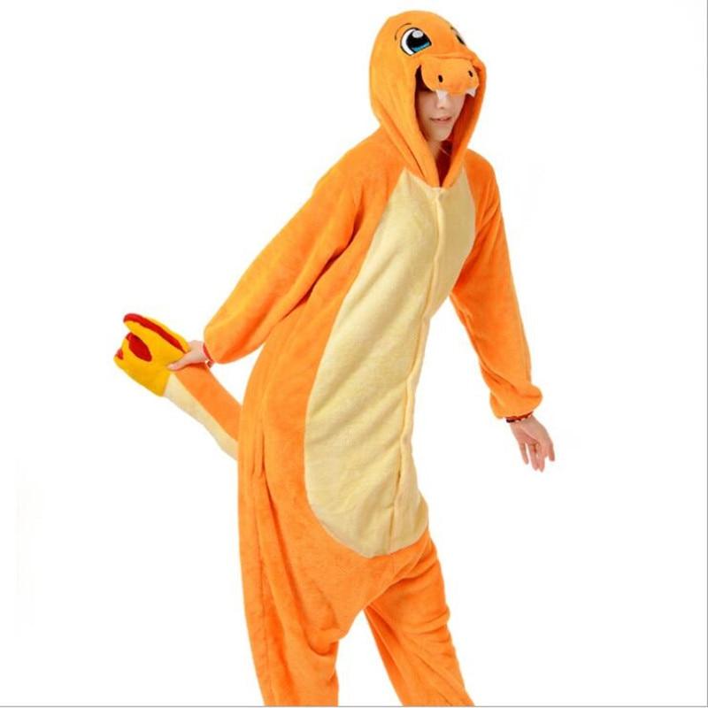 Pop anime pokemon Charizard jumpsuit Pajamas pyjamas costume charmander fire dragon Child Adult Unisex Onesie Party kids onesie