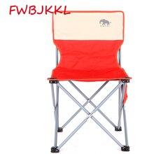 Стул складной для рыбалки портативный стул для кемпинга сиденье Оксфорд Ткань Алюминиевый рыболовный стул наружный пляжный стул красный черный