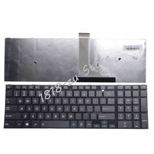 English Keyboard for Toshiba Satellite C50 C50D C50 A C50 A506 C50D A C55 C55T C55D C55 A C55D A US Keyboard with frame black