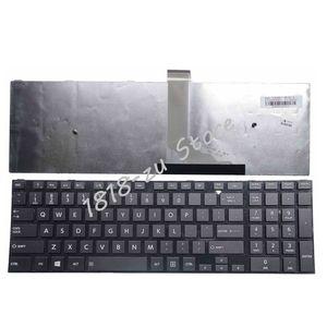 Image 1 - English Keyboard for Toshiba Satellite C50 C50D C50 A C50 A506 C50D A C55 C55T C55D C55 A C55D A US Keyboard with frame black
