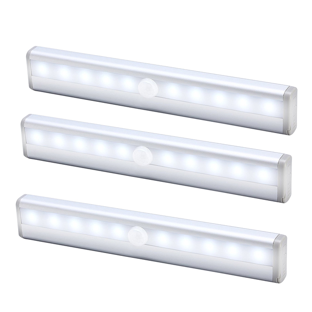 3 in 1 infrared induction led light easy no wire installation