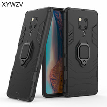 Armor Case For Huawei Mate 20X Magnetic Metal Finger Ring Holder Cover 20 X Shell Fundas