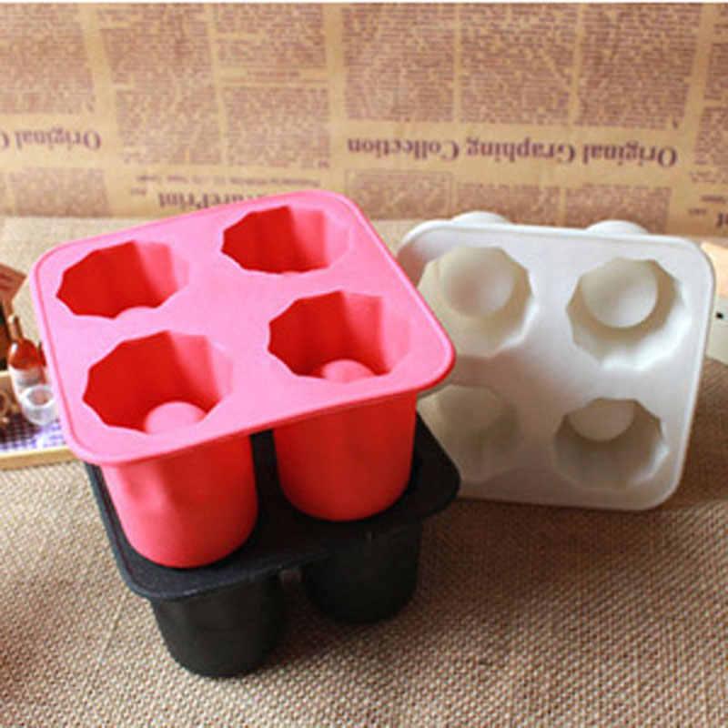 Keren Es Perlengkapan Pesta Gelas Membeku Cetakan Pembuat Bar Pesta Minum Bentuk Es Keren Bentuk Es cetakan Cetakan Es Loli