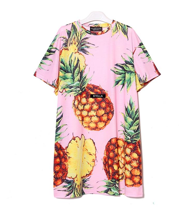 Ocasional Praia Vestido Plus Size Preto Rosa