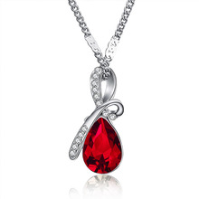 Austrian Crystal Necklace Pendants Jewellery & Necklace Women Fashion Jewelry