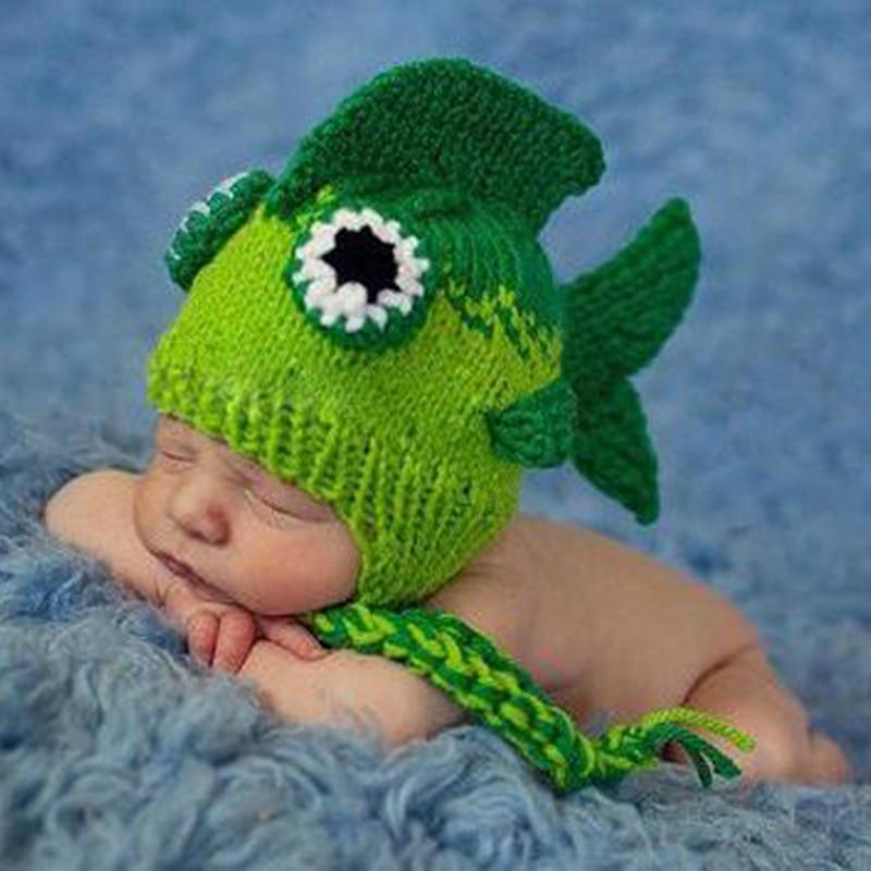 Popular crochet fish hat buy cheap crochet fish hat lots for Baby fishing hat