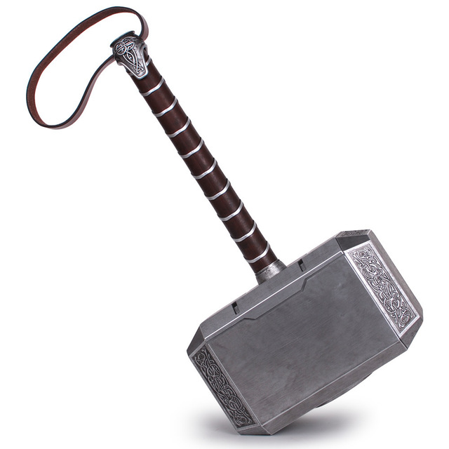 aliexpress com buy 1 1 scale full metal thor hammer mjolnir 1 1