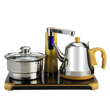 Free shipping Electric kettle automatic water feeding electric and pumping tea set Electric kettles
