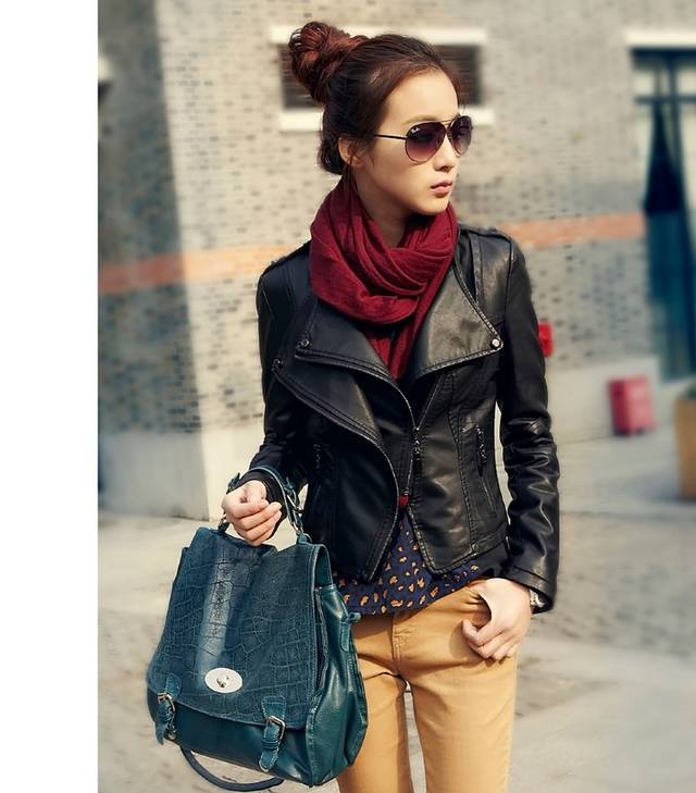 Images of Leather Jacket Women Fashion - Get Your Fashion Style