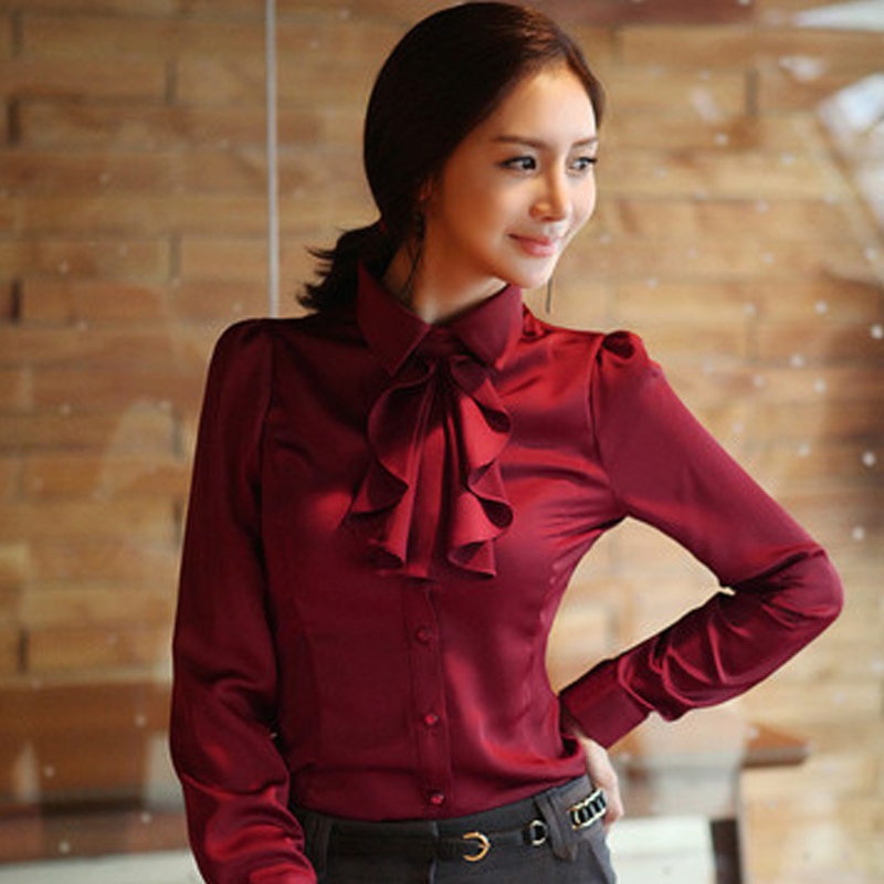Fashion Formal Wear 2017 New Office Lady Chiffon Blouse Good Quality Charm Women Shirt In Blouses Shirts From S Clothing Accessories On