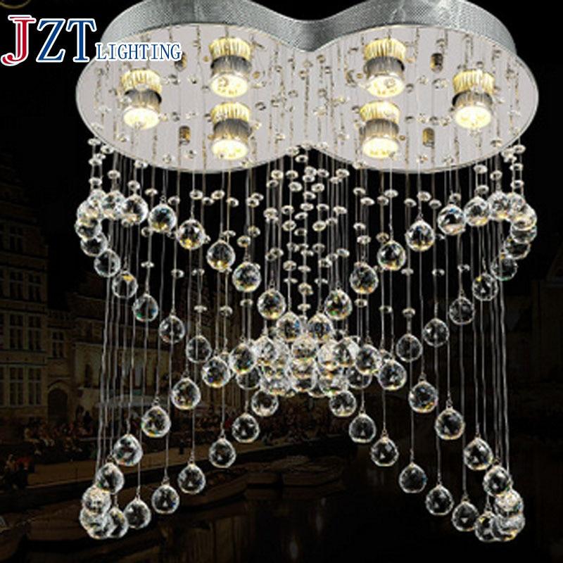 J best price fashion luxury Modern Crystal droplight Aisle Lights Creative Lights Crystal Ceiling lamps fashion lighting best price 5pin cable for outdoor printer