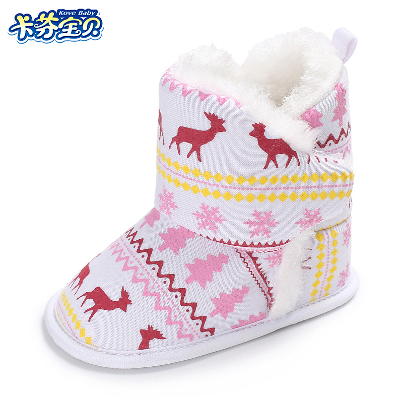 Winter Baby Girl Jongen Laarzen Zuigeling Warme Zachte Bodem - Baby schoentjes - Foto 1