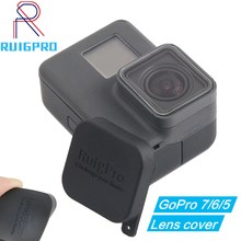 for Gopro Hero 5 6 Protective Lens Case Accessories Protection Cover Cap Black For Gopro Hero 5 6 7 Sport Camera 45m waterproof case mount protective housing cover for gopro hero 5 black edition